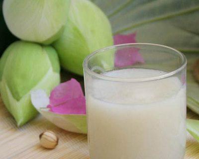 Sữa hạt sen vừa ngon mà lại dinh dưỡng