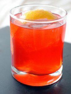 Cocktail Campari với vị đắng lạ miệng