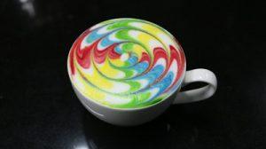 Latte art là kỹ năng chuyên nghiệp trong nghề Barista