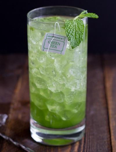 hình ảnh mojito trà xanh