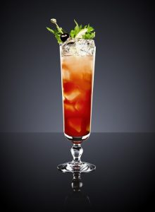 Cocktail Singapore Sling quốc tửu đảo quốc Singapore