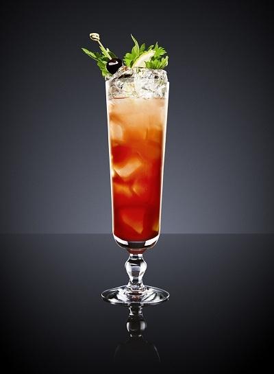 hình ảnh singapore sling cocktail