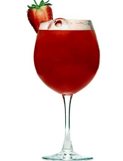 hình cocktail dâu tây