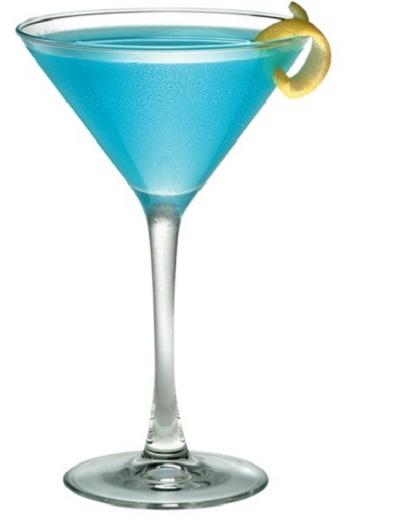 hình cocktail vỏ cam chanh