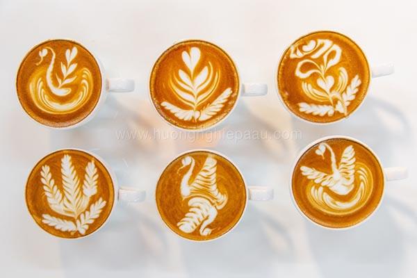 Một số tạo hình Latte Art phổ biến