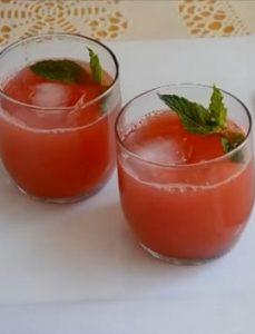 Cách Làm Mocktail Dưa Hấu Hứng Khởi Ngày Mới