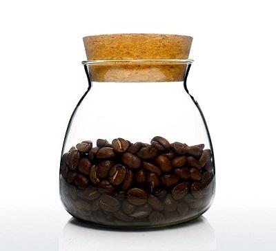 bảo quản hạt cà phê trong bao bì kín
