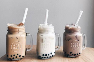 Bán trà sữa online tiết kiệm tiền quảng cáo