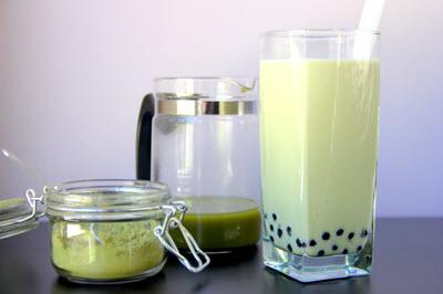 Cách làm trà sữa matcha thơm béo
