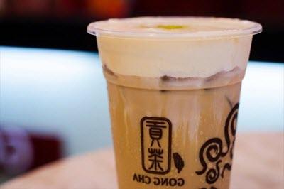 cách làm trà sữa milk foam