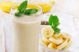 sinh tố chuối sữa tươi giảm căng thẳng