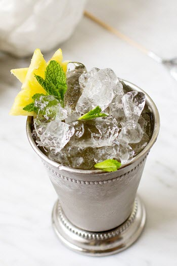hình cocktail mint julep