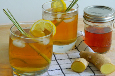 hình soda trà chanh