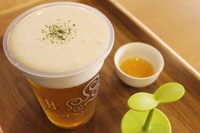 hình trà sữa gong cha