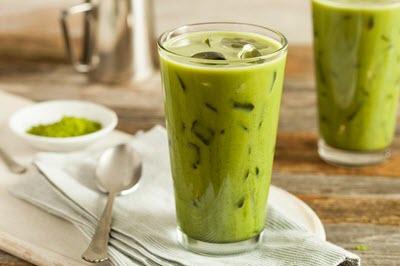 hình trà sữa thái trà xanh
