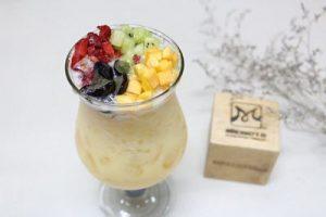 Bí kíp pha chế trà sữa trái cây tươi mới