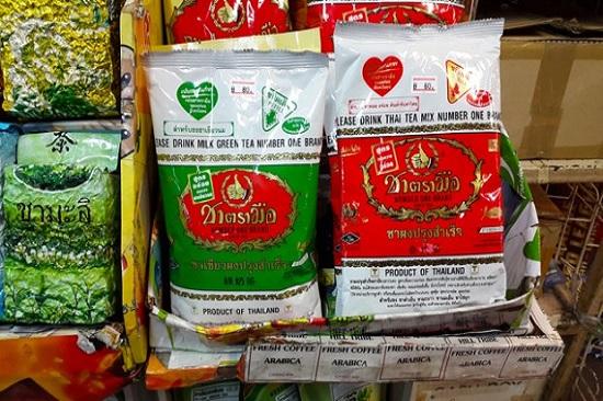 Gói bột trà Thái