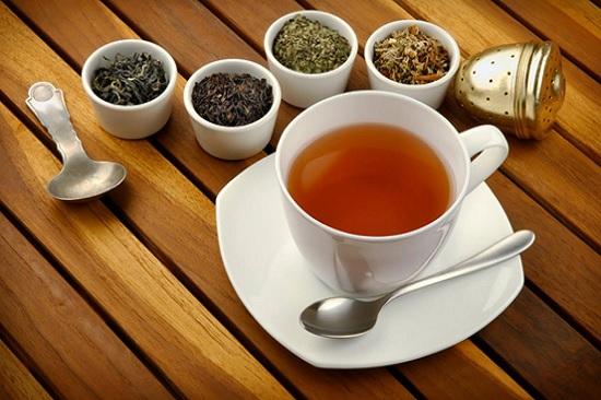 hình pha chế trà sữa nóng