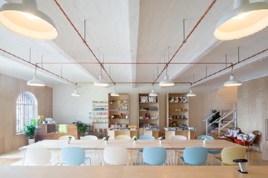 hình quán cafe scandinavian