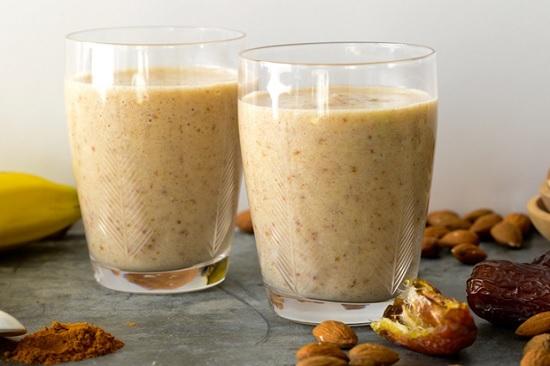 hình smoothie ngũ cốc