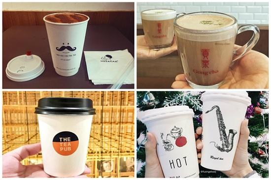 hình thương hiệu trà sữa nổi tiếng