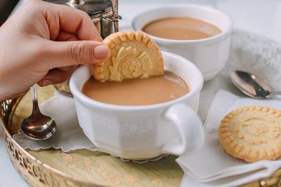hình trà đen pha sữa