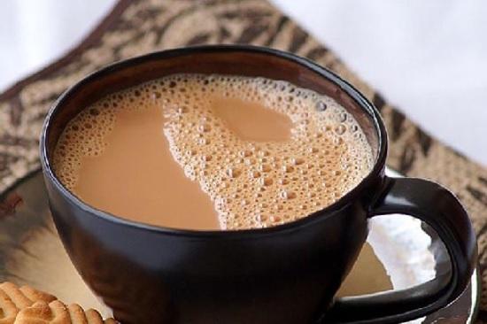 hình trà sữa nóng milk foam