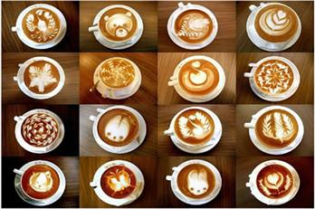 latte art đúng chuẩn