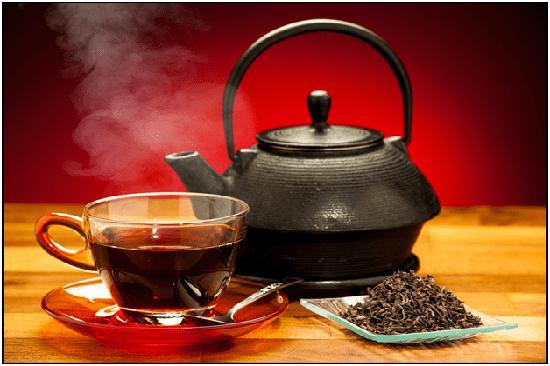 Trà đen là loại đồ uống được phổ biến