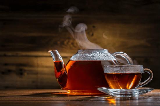 trà đen sử dụng nóng lạnh