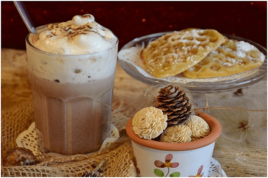 Món trà sữa đá xay với hương vị vô cùng mới lạ Nguồn: Internet