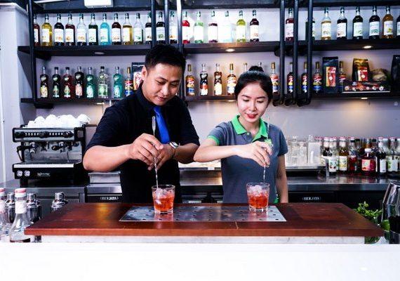 Trang trí Cocktail