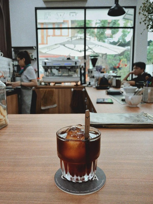 Coldvew Rasberry tại Comma Coffee