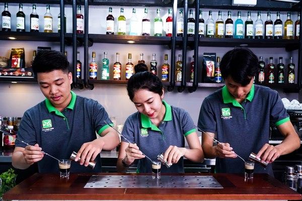 mục tiêu học bartender
