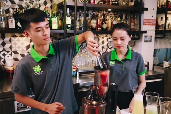 Học bartender để tìm việc trong tương lai