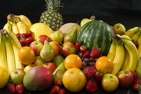 trái cây pha chế cocktail