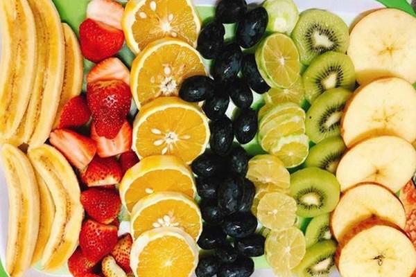 Trái cây ướp với đường