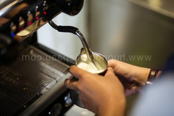 Cách đánh sữa cappuccino