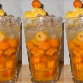 Cách Làm Cocktail Sơ Ri Tràn Ngập Ký Ức Tuổi Thơ