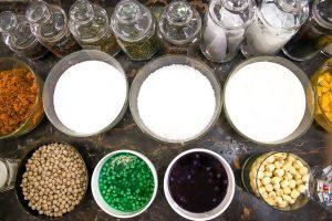Đa dạng nguyên liệu pha trà sữa