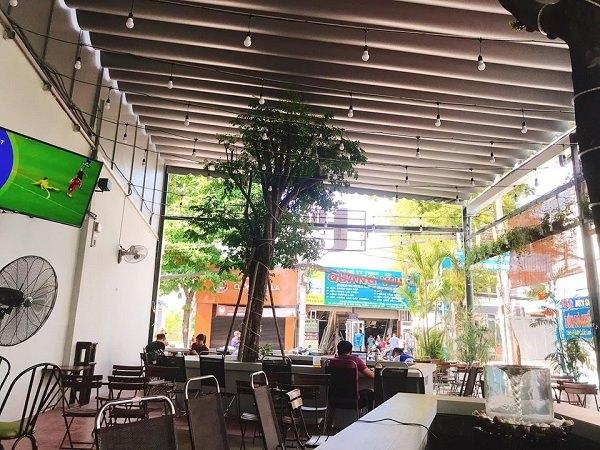 quán cafe bóng đá